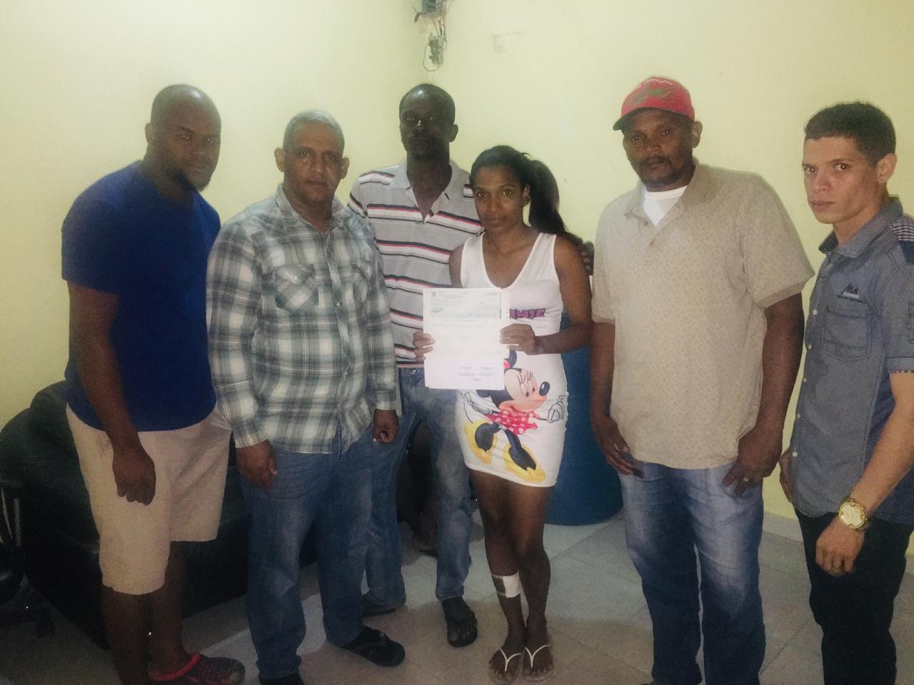 Ayuntamiento de Cambita Realiza donación a Afectados
