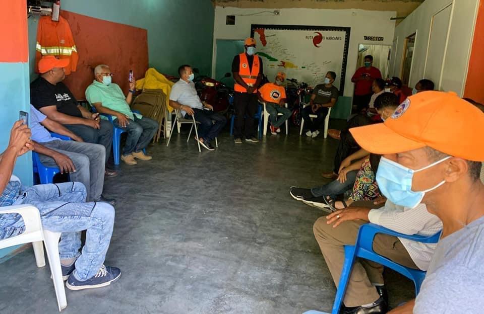 Reunión PMR para prevención tormenta Grace